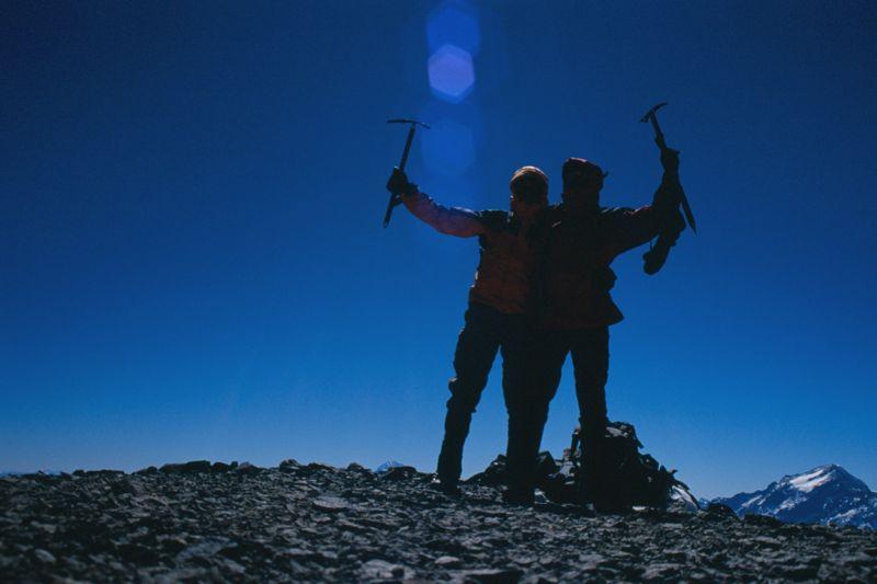 Gipfel Cerro El Plomo