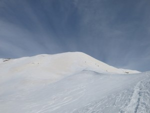 Der Gipfelaufbau der Putzenhöhe