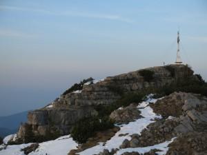 Am Gipfel des Wallbergs