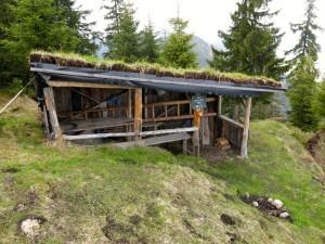 Das phänomenale Karl-Gaisenhof-Haus auf dem Weg zum Brunnberg