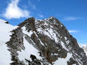Ein erster Blick auf den Gipfel