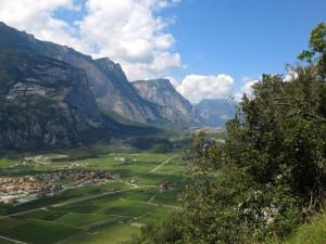 Blick ins Sarca-Tal
