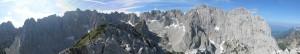 Gipfelpanorama am Mitterkaiser