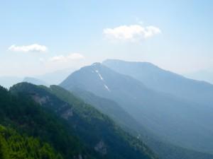 Blick hinüber zum Monte Stivo