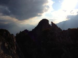 Der Gipfel des Rauhensteins