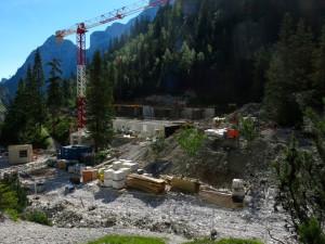 Hier entsteht die neue Höllentalangerhütte