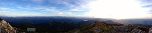 Panoramablick nach Süden