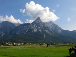 Der schönste der Ehrwalder Berge - die Sonnenspitze