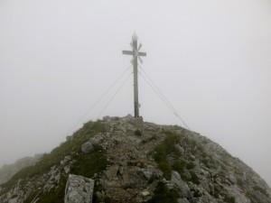 Gipfelkreuz am Daniel