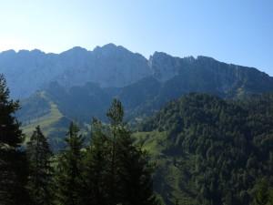 Die beeindruckende Nordwand des Scheffauers