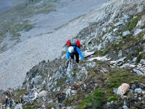 Klettern im Schrofengelände