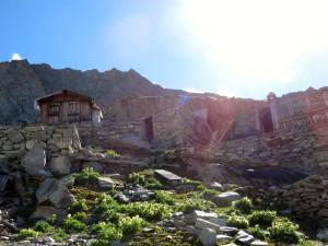 Das verlasse Molybdän-Bergwerk in der Galkichumma