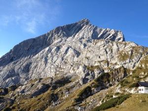 Die Alpspitze in ganzer Pracht