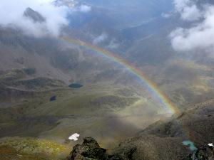 Nach dem Regen kommt der Regenbogen