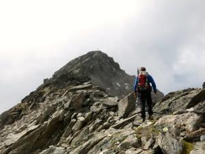 Nicht mehr weit bis zum Gipfel des Hochreichkopfes