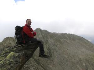 Robi genießt die Kletterei