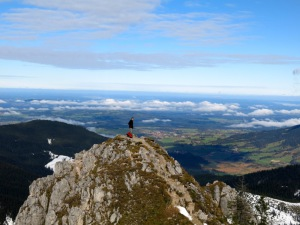 Blick über's Alpenvorland