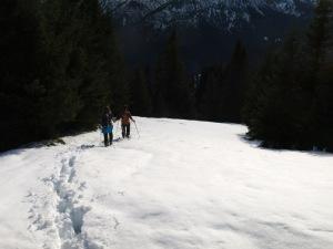 Abstieg nach Linderhof