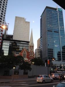 Im Zentrum von Brisbane