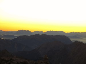 Sonnenaufgang im Karwendel