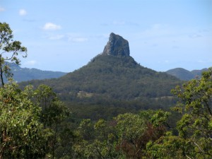 Mount Coonowrin, einer der Glass House Mountains