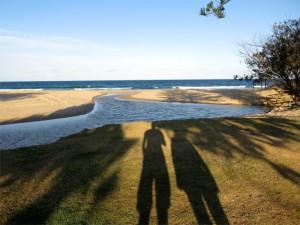 Am Strand von Caloundra
