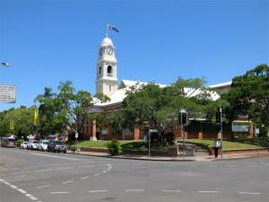 Das Rathaus von Maryborough