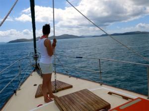 Whitsunday Island voraus!