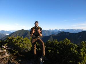 Zehn Gipfel sind geschafft