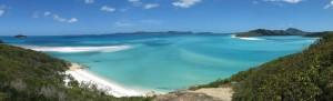 Sieht aus wie Fidschi, liegt aber in Queensland: Whitehaven Beach