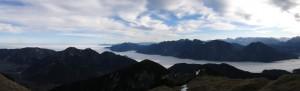 Das Loisachtal als Fjord des Nebelmeeres