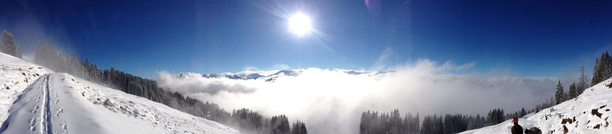 Gipfelpanorama Hohe Salve