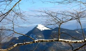 Da schaut er fast alpin aus, der Jochberg.