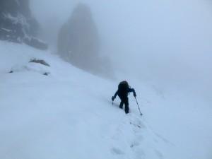 Wir nähern uns allmählich dem Gipfel.