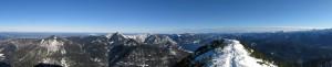 Simetsberg-Gipfelpanorama