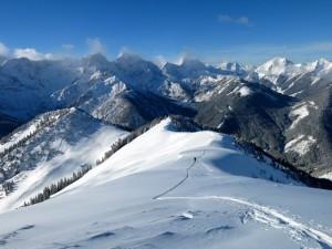 Vorkarwendelige Winterlandschaft