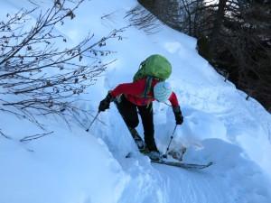 Dem Skisalat knapp entronnen