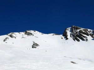 Am Gipfelhang ist schon einiges los