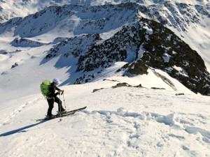 Die letzten Meter unter dem Gipfel