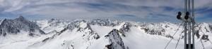 Herrliches Gipfelpanorama