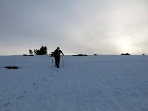 Direkte Nordwand des Roßwank