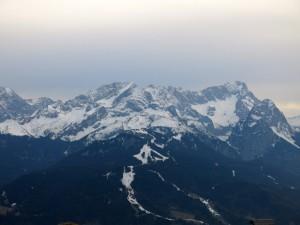 Hochblassen, Alpspitze und Zugspitze