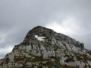 Das Gipfelwandl ist leichter als es aussieht.