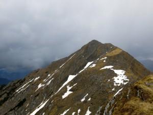 Rückblick von der Gumpenkarspitze