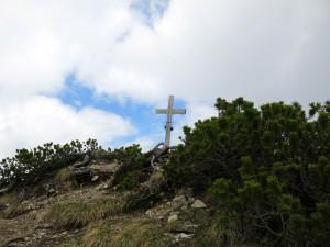 Das Gipfelkreuz des Bayrischen Schinders