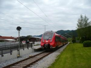 Der Zug zurück