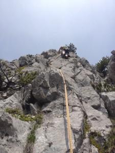 Klettern...