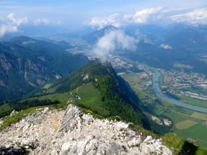 Gipfelblick auf der Naunspitze