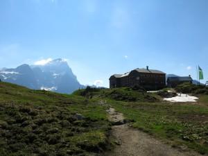 Hofpürglhütte vor Dachstein