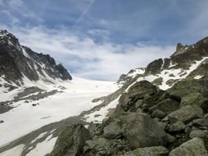 …und der Glacier d'Orny